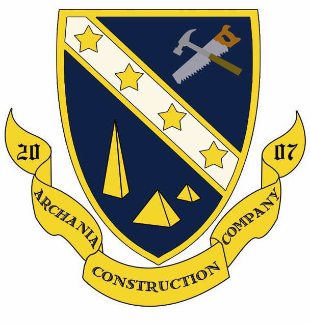 Archania Construction Company Logo